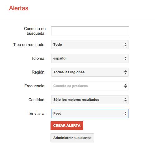 cómo funciona google alerts