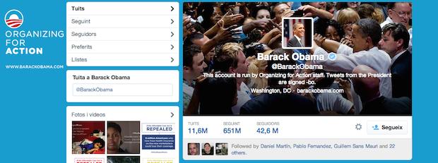 twitter de obama